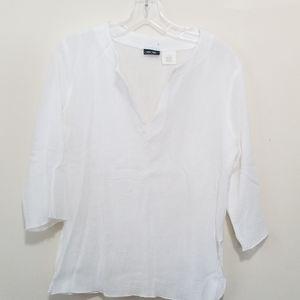 White Cotton Summer Top